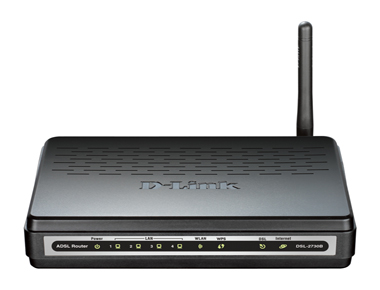 Router Wireless ADSL2+ 4-P DSL-2730B